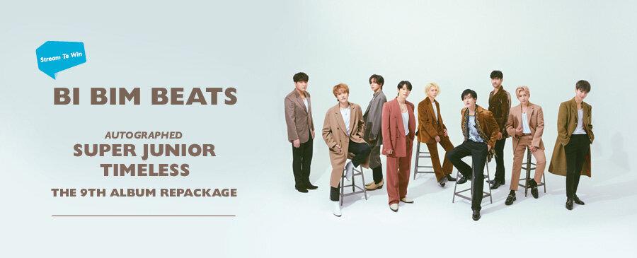 STREAM TO WIN | Super Junior Timeless