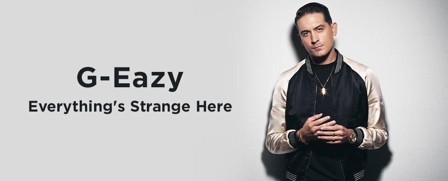 G-Eazy / Everything's Strange Here(7/2轉西洋)