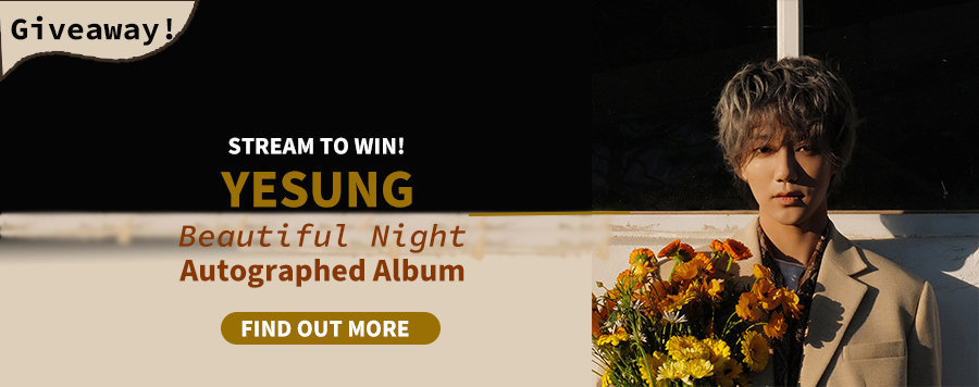Stream To Win | YESUNG Autographed Album