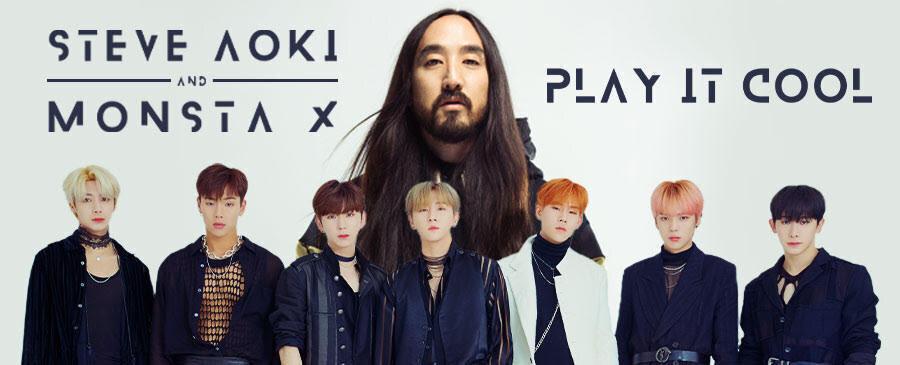 Steve Aoki & Monsta X / Play It Cool