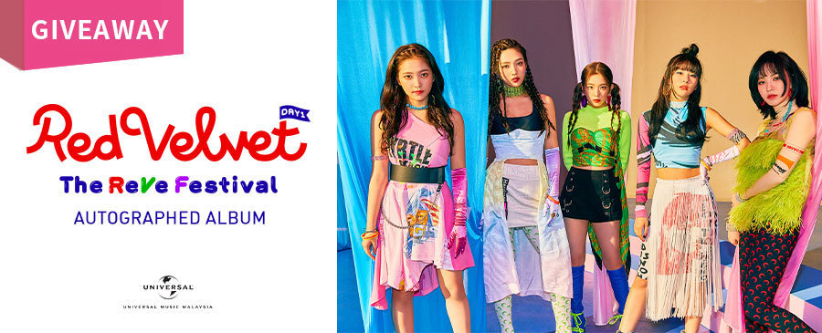 GIVEAWAY | Autographed Red Velvet Albums