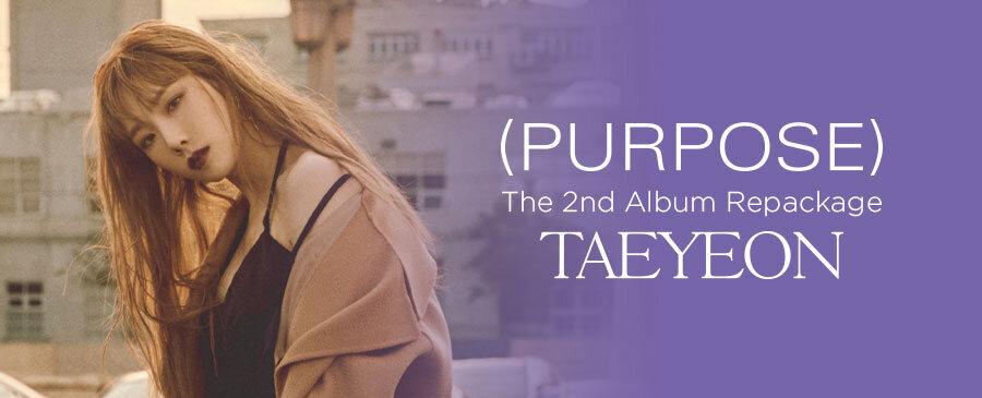 Taeyeon / Purpose Repackage