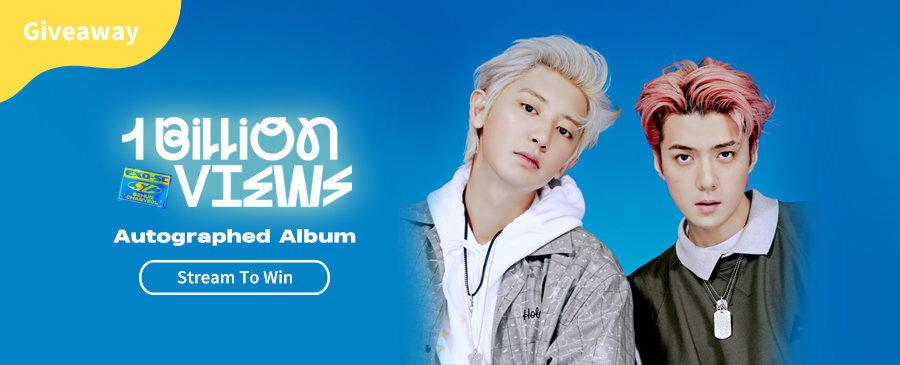 Stream To Win | EXO-SC Autographed Album