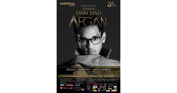 Konsert 'Dari Hati' Afgan