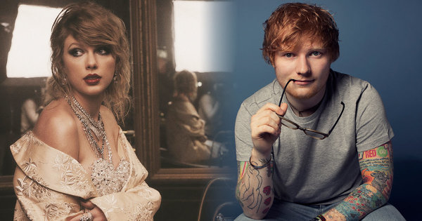 有一種友情,叫做Taylor Swift與Ed Sheeran