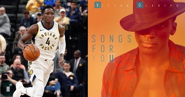 是NBA球星,也是實力派歌手!溜馬隊一哥Victor Oladipo