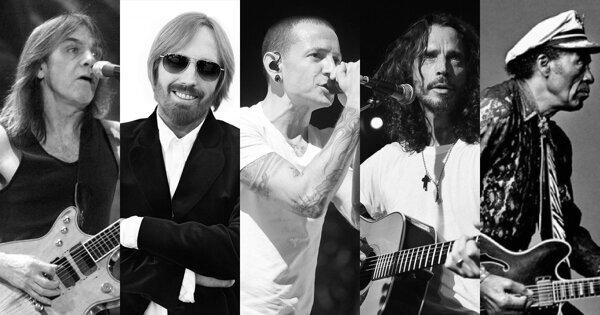 永別了!那些在2017年離我們而去的搖滾巨星