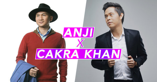 Cakra Khan dan Anji Kini Prominen di Malaysia