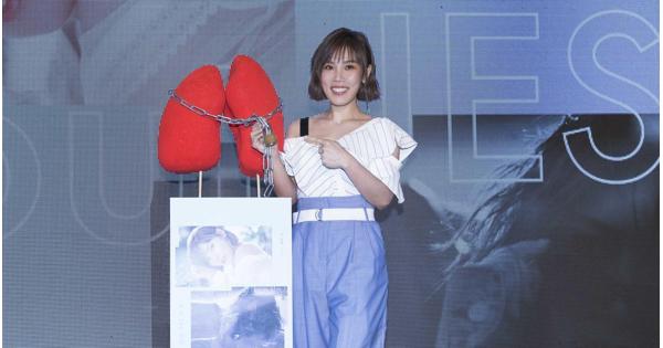 李佳薇舉行「封肺」儀式 宣示擺脫技巧做最真實的自己