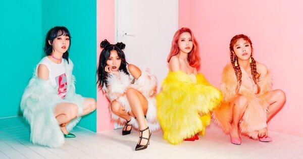 團員都是超強主唱的實力派女團 MAMAMOO-韓流巨星在SBS的第一次(2)