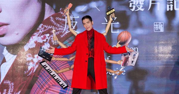 蕭敬騰發片會喊「想回家!」金曲主持倒數 坦言正面迎擊評論