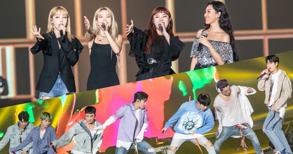 iKON、MAMAMOO 霸氣外漏 Wanna One 驚喜現身! SUPER CONCERT 台北開唱