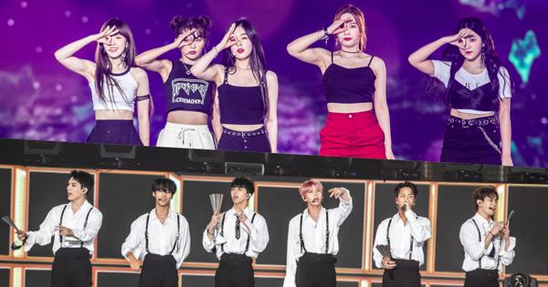 粉絲福利大放送!VIXX 走秀「拍到飽」 Red Velvet 獻唱鯊魚寶寶 SUPER CONCERT 台北開唱