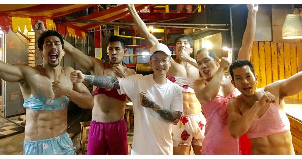 蕭秉治泰國錄節目  遇性感猛男齊跳「射手舞」