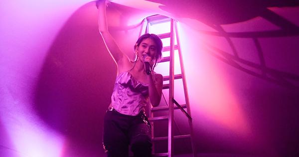 猜不透的星期三的康帕內拉 來台開唱登A字梯嗨翻全場