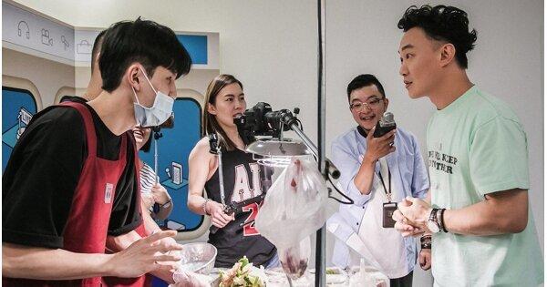 《速爆突击队》首集大来宾陈奕迅,大啖咸水鸡:葱多一点!