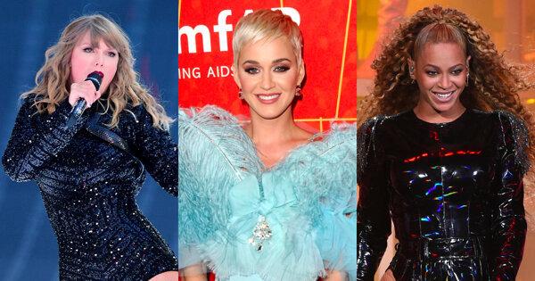 音樂界最會賺錢的女人們!凱蒂佩芮二度榮登吸金女王