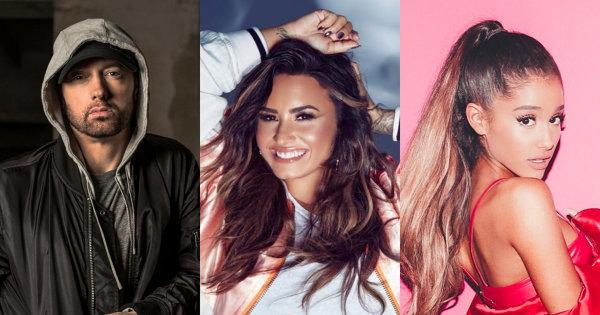 盤點2018年美國最常被google的5位歌手!亞莉安娜只拿第三?