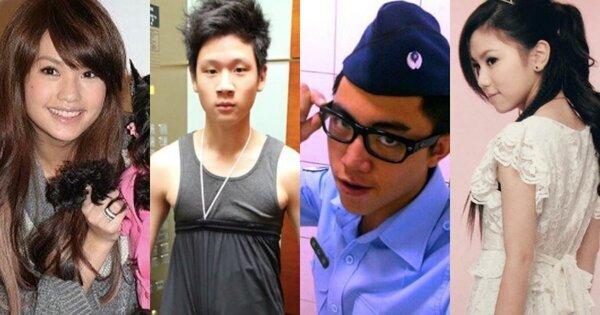 【10年挑战歌手篇】邓紫棋晒17岁萌照、周兴哲撞脸JJ