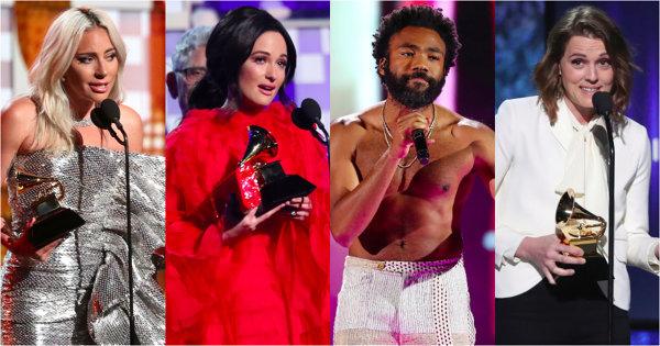 【葛萊美得獎名單】「撿到槍」的淘氣阿甘年度歌曲創紀錄 鄉村天后凱西4項全拿大贏家