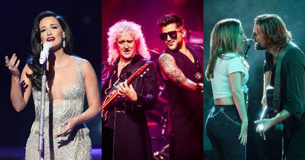 【奧斯卡亮點】Queen34年首次登台 Lady Gaga與Bradley Cooper合唱〈Shallow〉