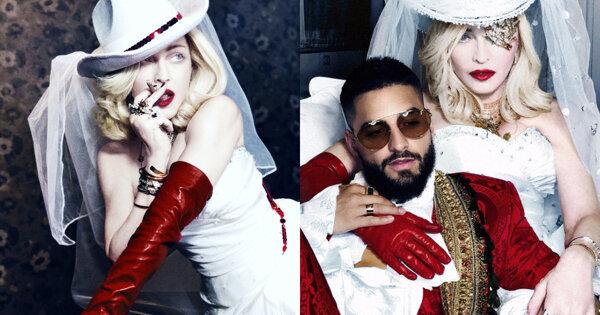 Madonna新歌與拉丁小鮮肉合作!Maluma激動落淚:「你們不知道我有多幸福」