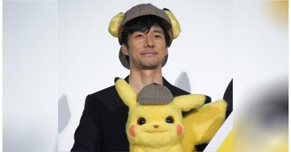 西島秀俊擔任日文版皮卡丘配音,網友:可惡!好想收服