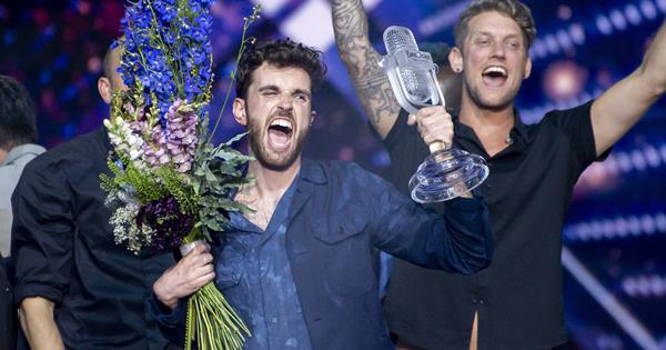 荷蘭出櫃歌手奪歐洲歌唱大賽冠軍 瑪丹娜登台獻唱呼籲以巴和平