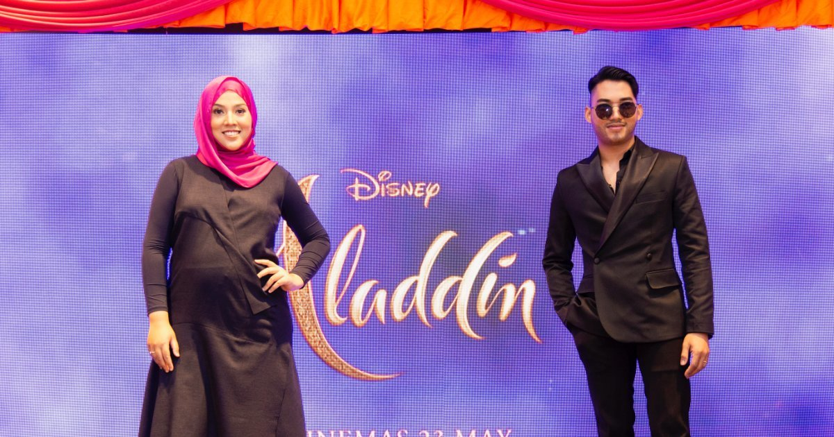 Aladdin's New World With Shila Amzah & Hael Husaini