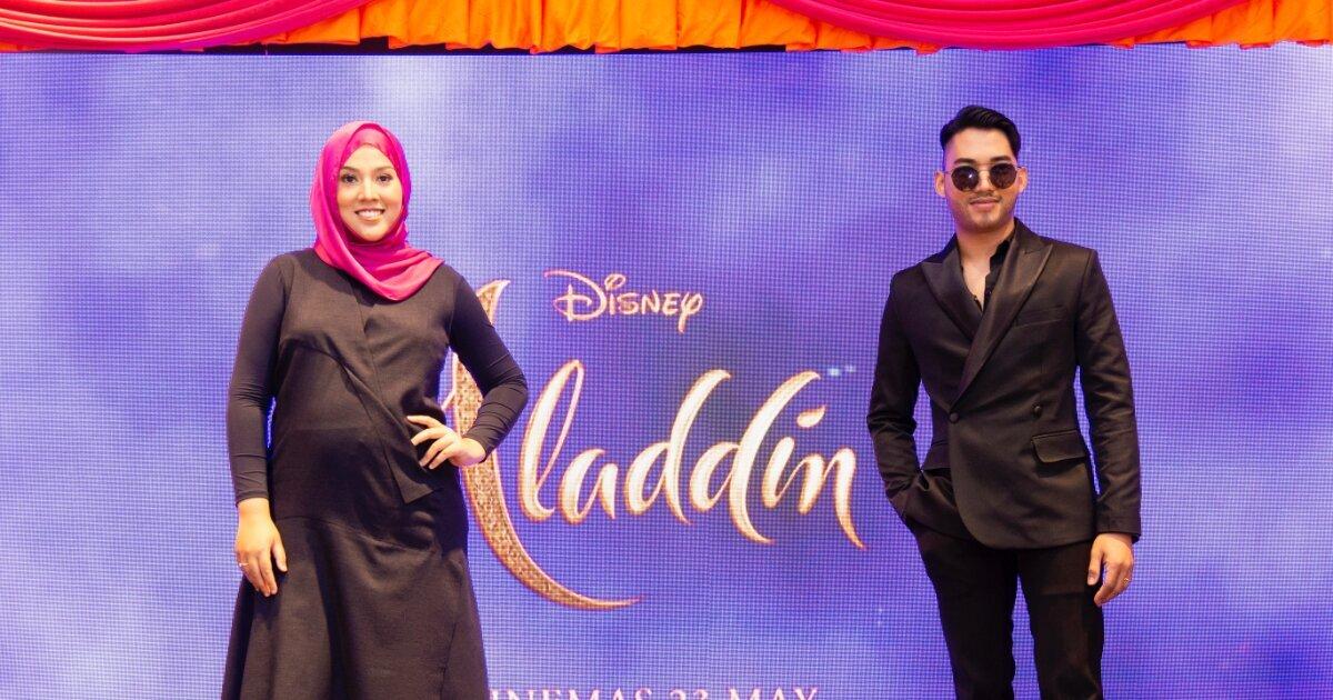 Dunia Baru Aladdin Dengan Shila Amzah & Hael Husaini