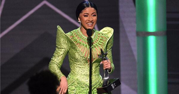 卡蒂B拿「年度專輯」制霸黑人娛樂電視大獎!瑪麗布萊姬出道30年獲終身成就獎