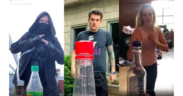 你今天踢瓶蓋了嗎!艾倫沃克、艾麗高登等人大展身手響應 Bottle Cap Challenge