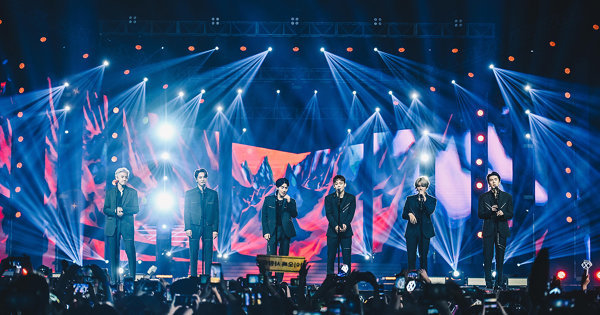 Top K-Pop Acts Join Forces At The SBS Super Concert In Hong Kong