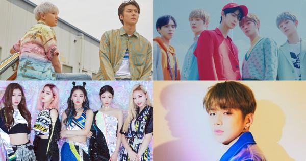 韓樂7月下旬回歸整理:EXO-SC強勢出擊,姜丹尼爾、CIX即將出道!