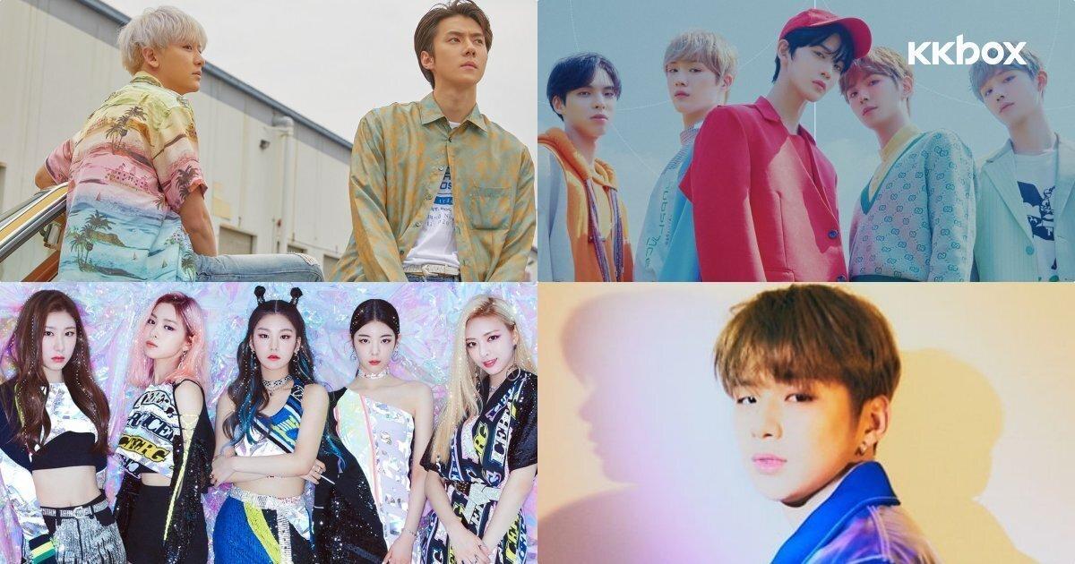 韓國樂壇7月底回歸整理:EXO-SC強勢出擊,姜丹尼爾、CIX即將出道!