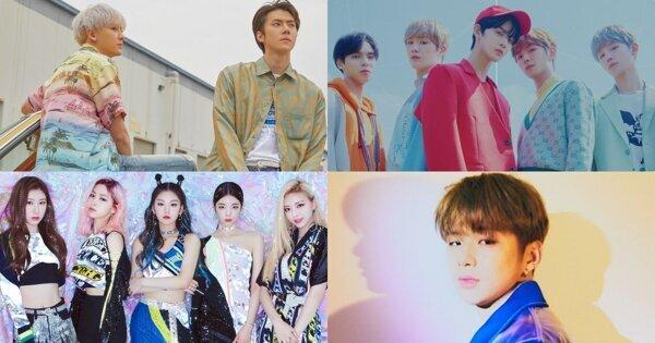 K-POP 7月回归整理:EXO-SC强势出击,姜丹尼尔、CIX即将出道!