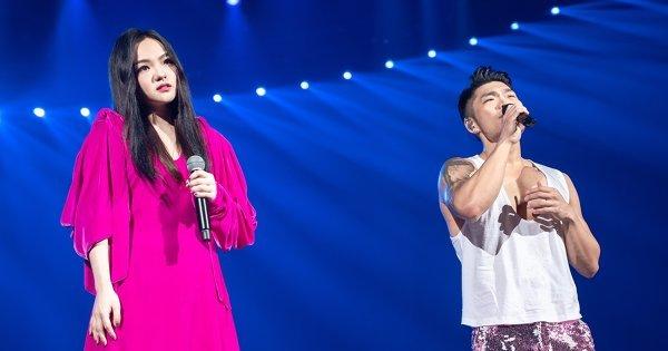 歌王歌后合體!李玖哲徐佳瑩合唱〈你敢不敢〉 拉拉摸完腹肌:相馬茜對不起