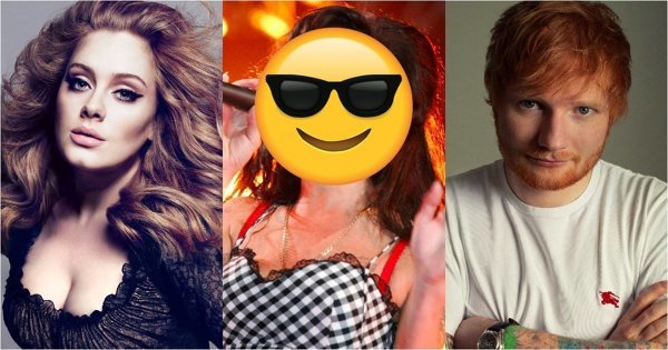 21世纪英国最畅销专辑出炉!Adele、 Ed Sheeran 前 5 名占据 4 名