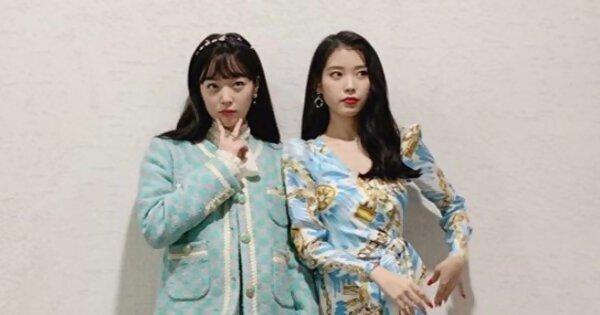 IU写给雪莉的歌曲〈桃子〉重新上榜 Amber取消美国行程奔回韩国吊唁