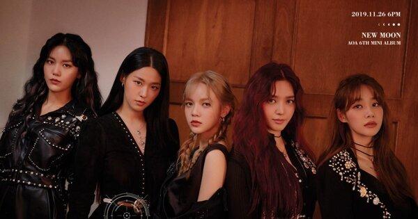 韓國樂壇11月下旬回歸整理:IU、EXO、AOA都回來了!