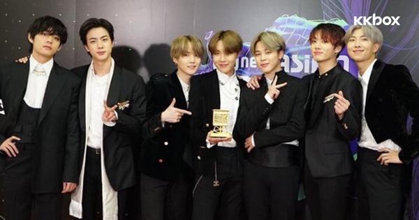 2019 MAMA|BTS防彈少年團包辦「年度藝人」「年度專輯」等9獎項成最大贏家