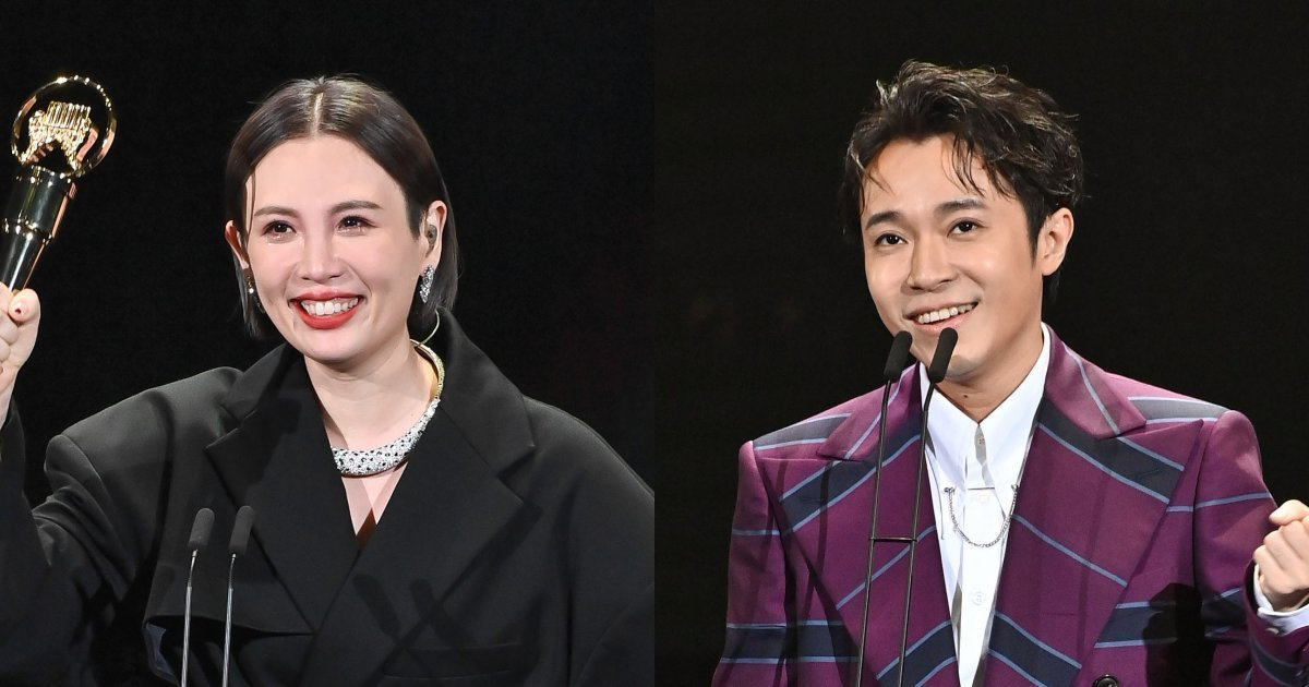 The 31st Golden Melody Report: Waa Wei & Wu Tsing-Fong are our Mandopop Queen & King, A-Bao Is Night's Biggest Winner