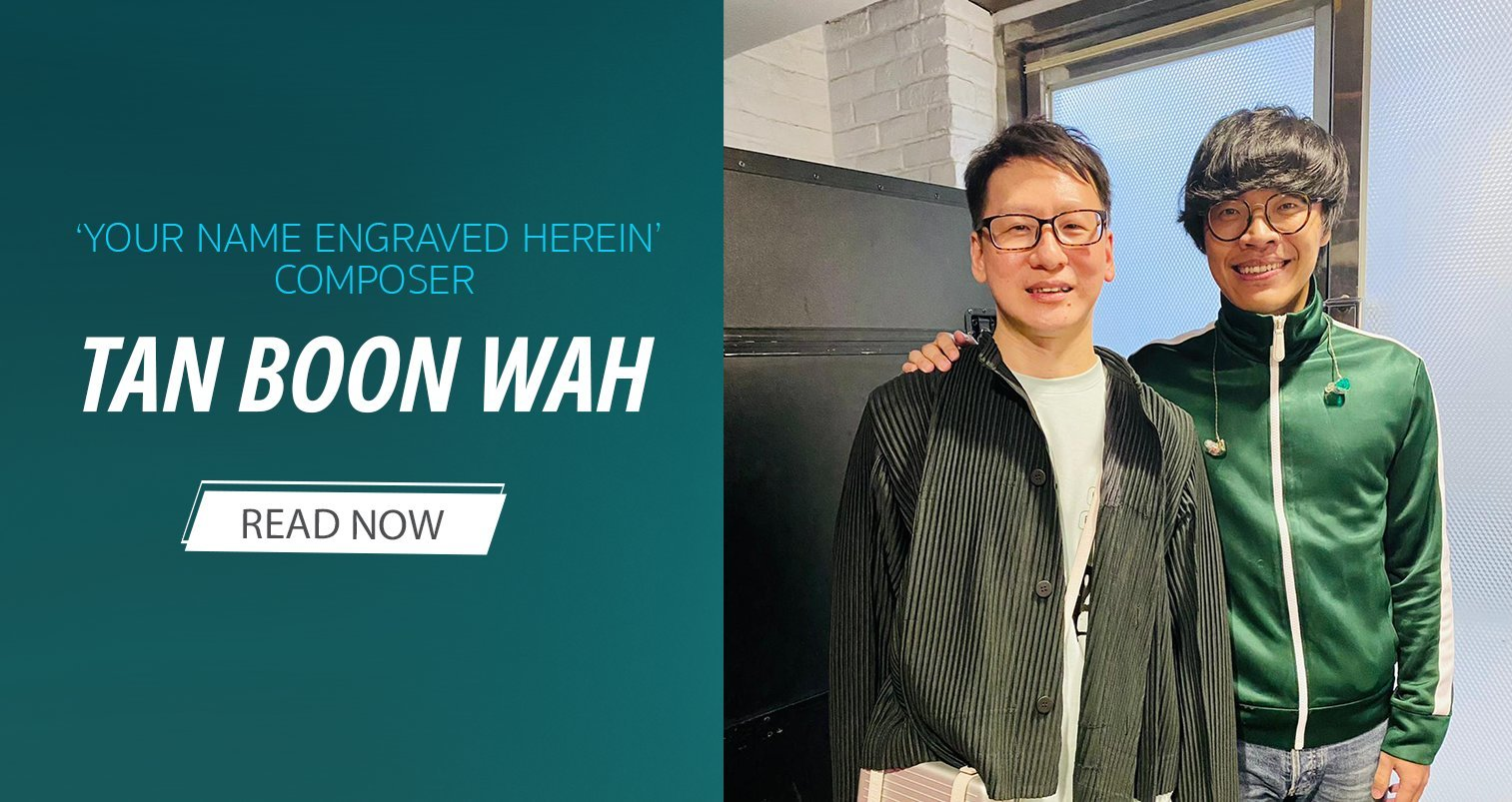 Golden Horse Winner Tan Boon Wah: From 'Your Name Engraved Herein' Songsmith to Singer