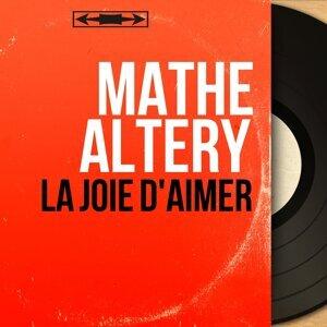 Mathé Altéry 歌手頭像