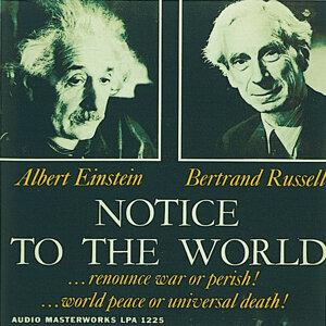 Albert Einstein & Betrand Russell 歌手頭像