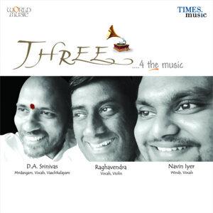 D.A. Srinivas, Raghavendra, Navin Iyer 歌手頭像