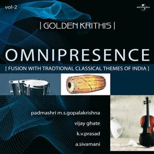 Padmashri M.S. Gopalakrishna/Vijay Ghate/K.V. Prasad/A. Sivamani 歌手頭像