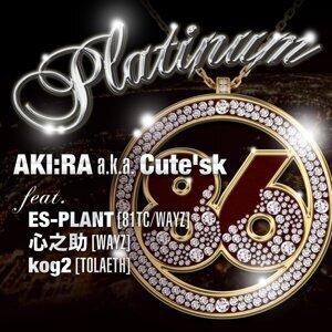 AKI:RA a.k.a.Cute'sk 歌手頭像