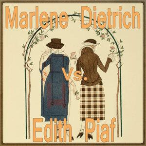 Marlene Dietrich & Edith Piaf 歌手頭像