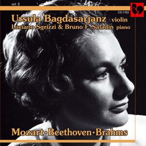 Ursula Bagdasarjanz, Luciano Sgrizzi, Bruno F. Saladin 歌手頭像